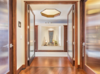 Modern home with Doors, Interior, Wood, and Swing Door Type. Dramatic entrance to private master suite. Photo 8 of Hawaii Architect's Home in Keauhou Estates