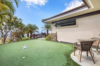 Putting green by Southwest Greens allows you to practice right at home. Photo 16 of Hawaii Architect's Home in Keauhou Estates modern home