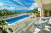 The ocean view pool during the day Photo 5 of Mediterranean Estate in Hawaii Loa Ridge modern home