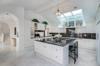 German engineered kitchen of this worldly estate Photo 6 of Mediterranean Estate in Hawaii Loa Ridge modern home