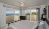 Guest bedroom with panoramic view from multiple balconies. Photo 12 of Mediterranean Estate in Hawaii Loa Ridge modern home