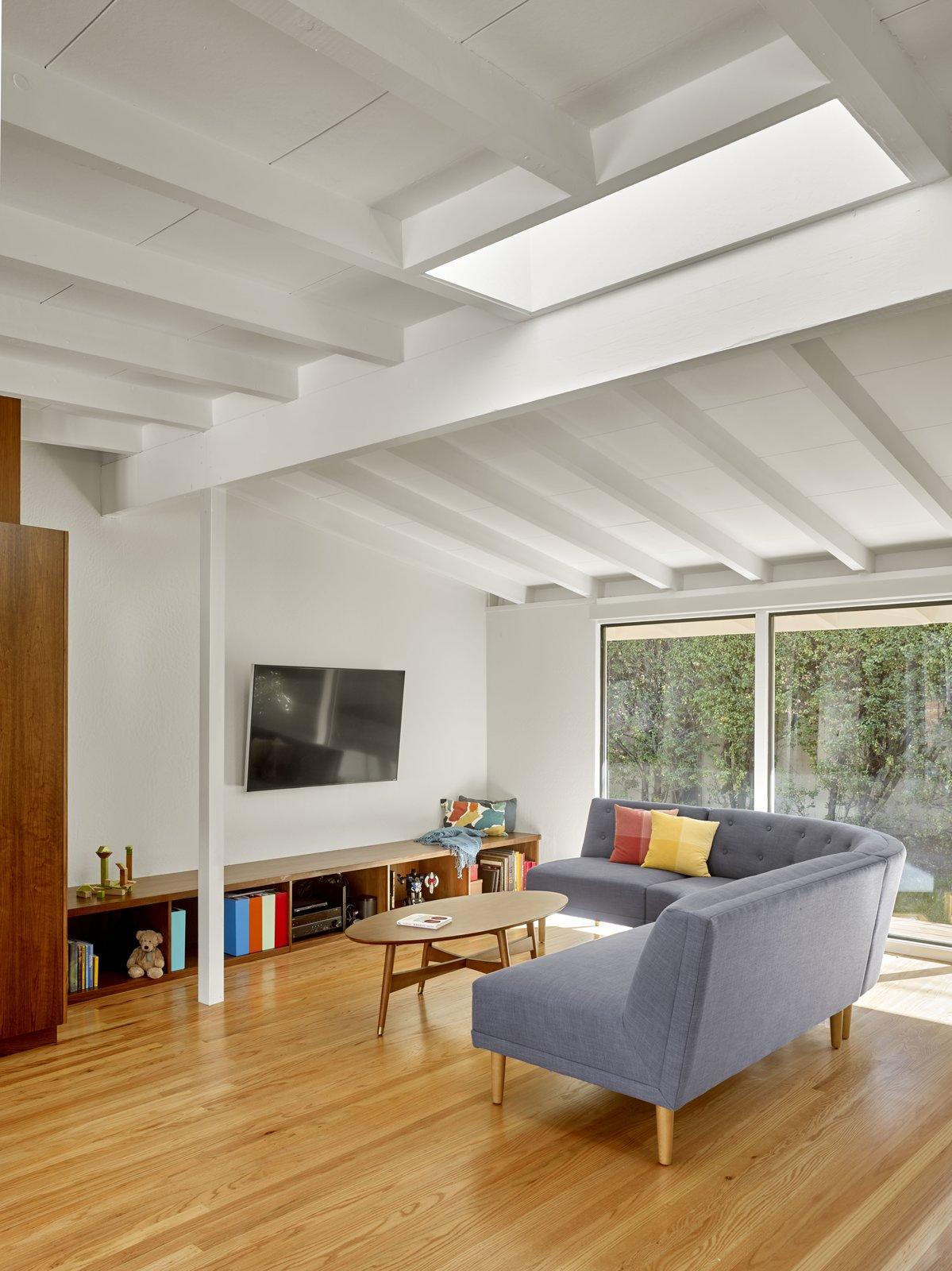 Tamalpais Street Residence living room