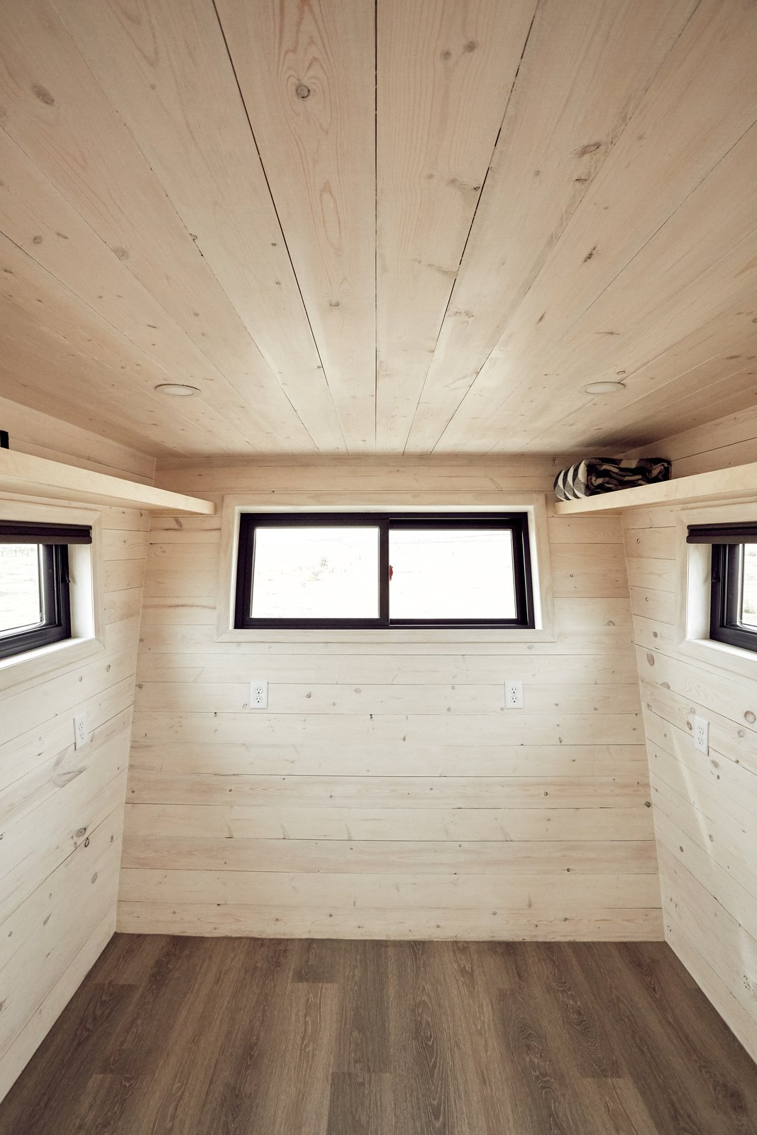 Shed & Studio The flex room can fit a queen-size bed, or be outfitted as an office.    Land Ark RV - Drake by Brian Buzarde