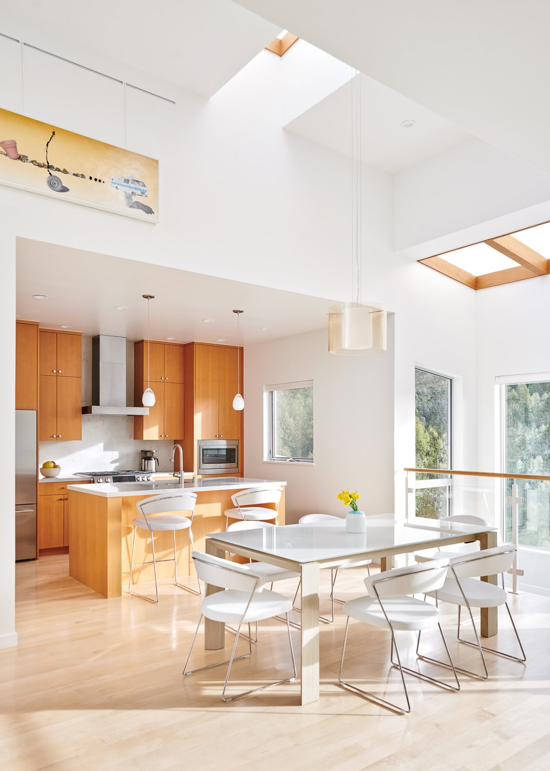 Oakland Hills I by Andrew Morrall kitchen and dining room