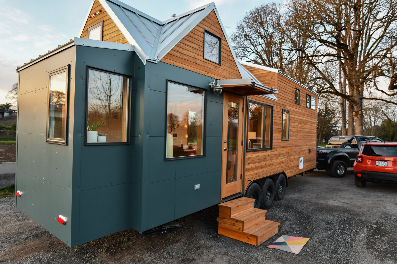 Tiny Home Designs: Not So Tiny Tiny, For A Doctor In California Modern Home