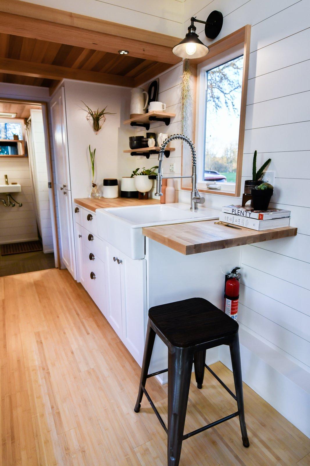 Urban Payette tiny home kitchen