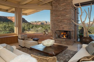 Great Room Artfully Designed To Capture Views