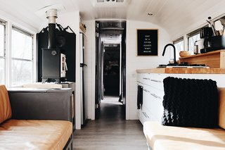 Blue Steel, Our Self Coverted School Bus Tiny Home