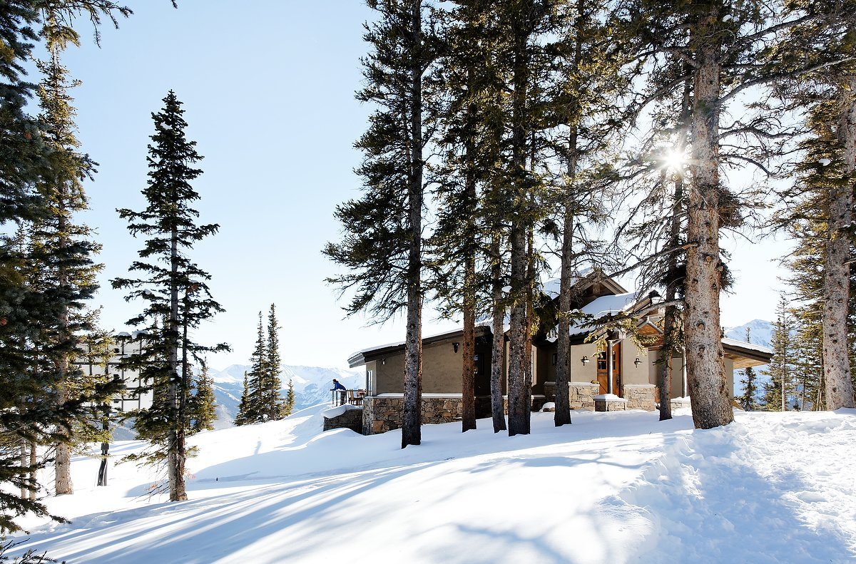 Smith Cabin Aspen Modern Home In Aspen Colorado By