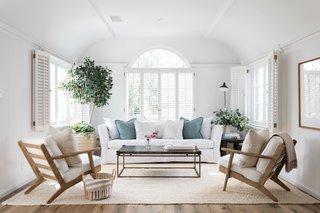Coastal California Living Room
