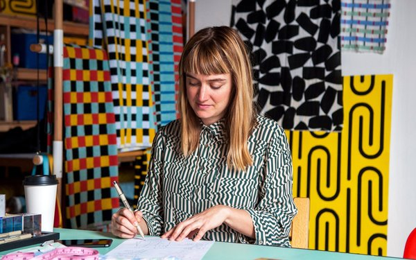 Dusen Dusen's Brooklyn Studio Is a Playground of Color