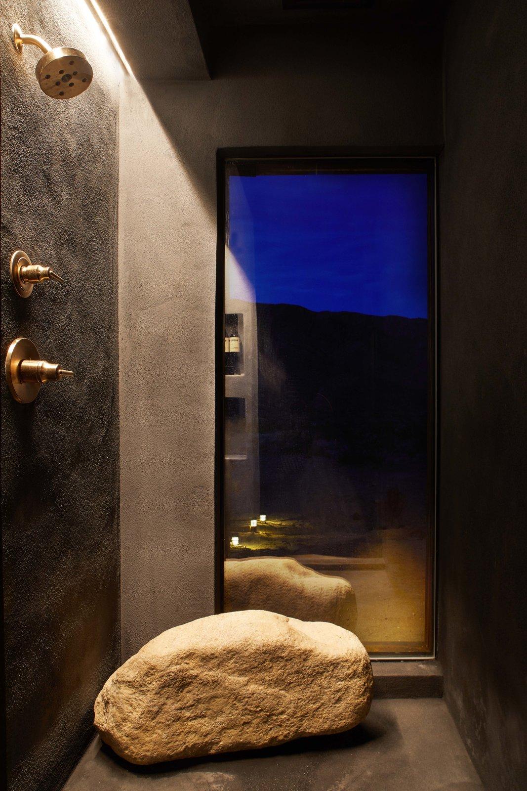 Bath Room wet shower room  Folly | Off Grid by malek alqadi