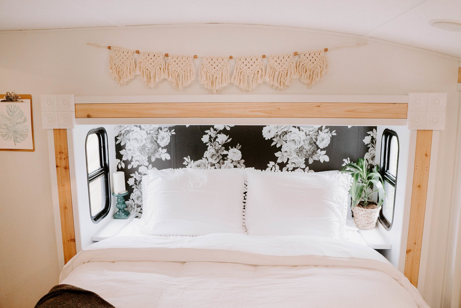 Bedroom, Bed, and Light Hardwood Floor Snuggle up quick on this bed and you are sure to fall asleep dreaming of your adventures tomorrow!  The Cougar