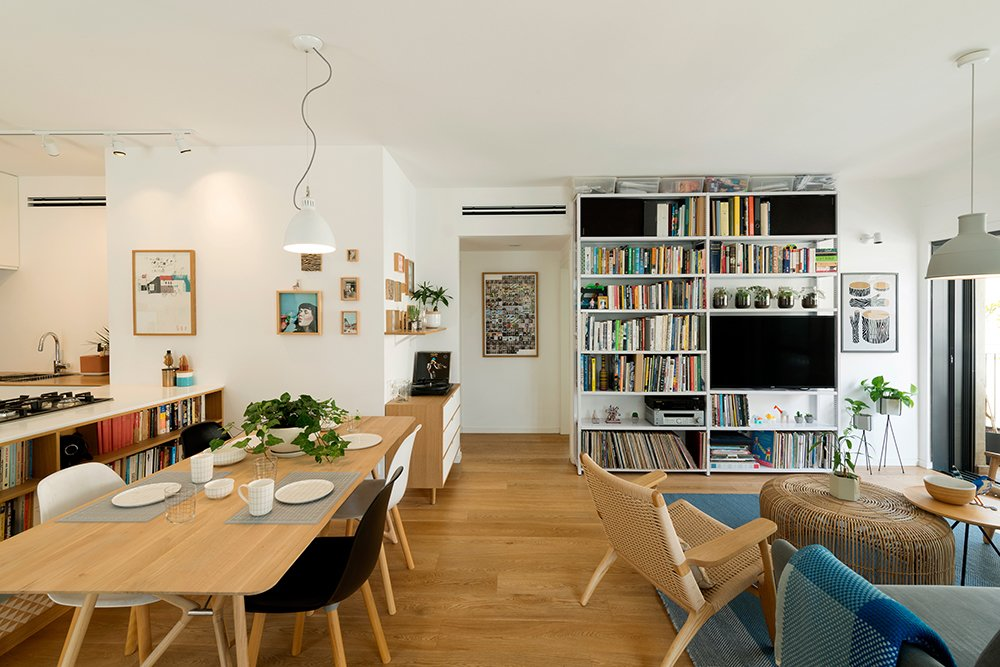 The Dining and Living Room