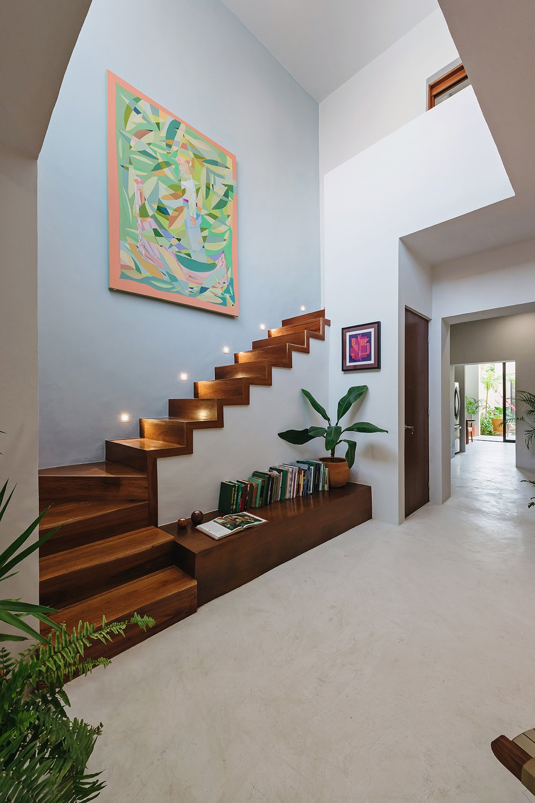 Staircase and Wood Tread Staircase  Photo 2 of 6 in Top 5 Homes of the Week With Captivating Staircases from Casa Picasso