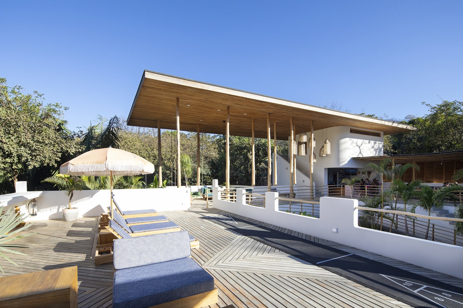 Outdoor and Decking Patio, Porch, Deck Rooftop terrace  Nomadic Nosara