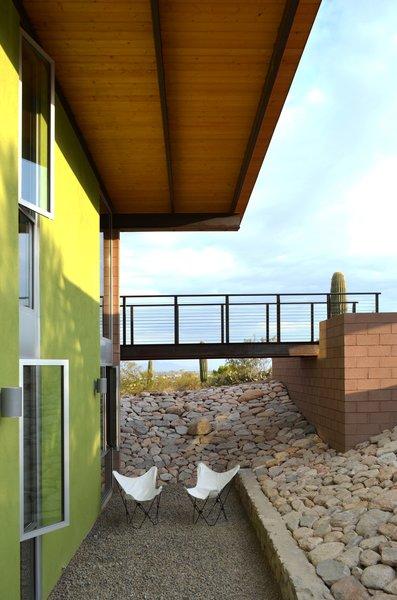 Lower Courtyard at Bridge