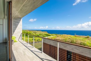 Green Roof and Ocean View