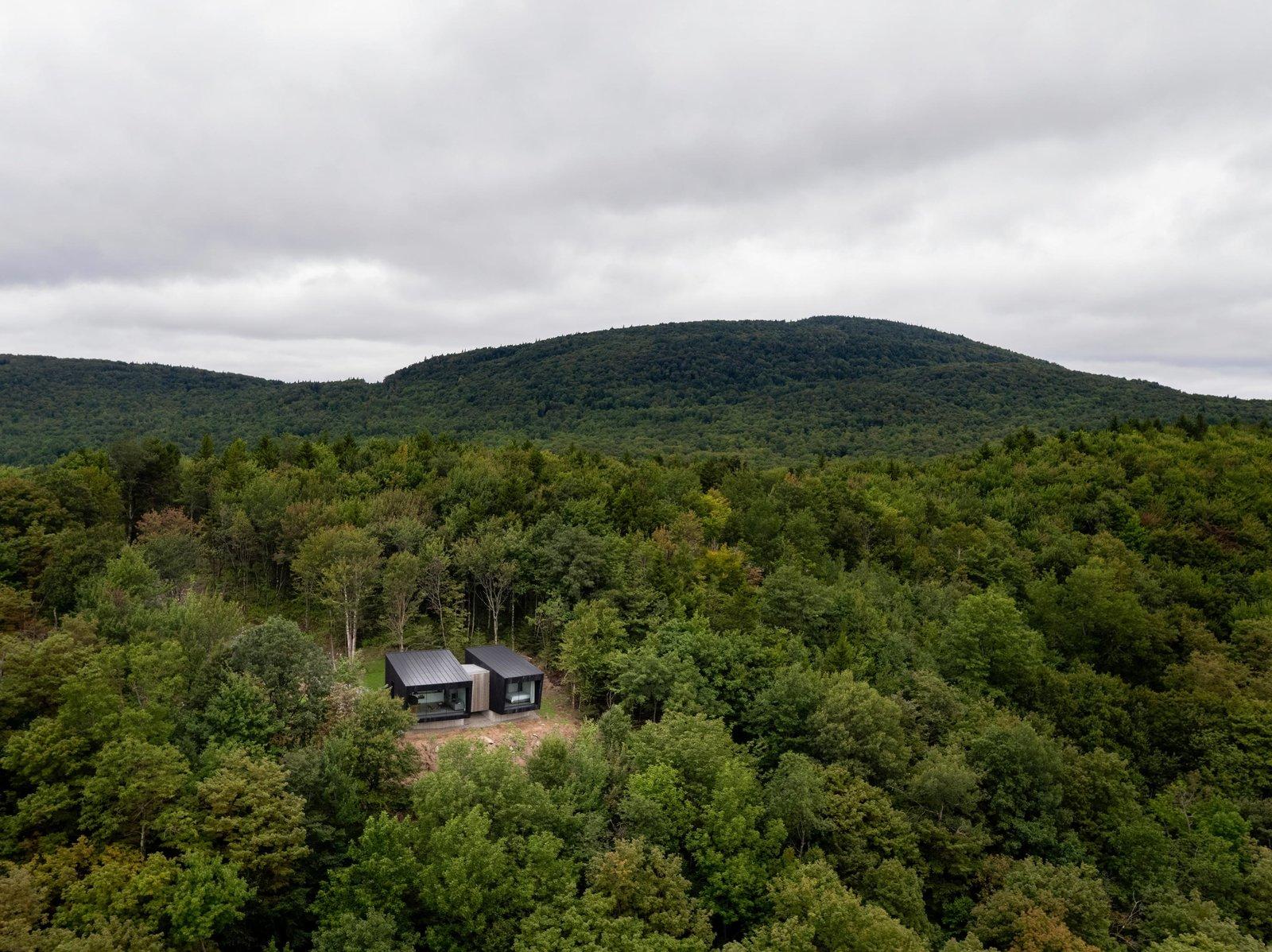 La Binocle aerial view