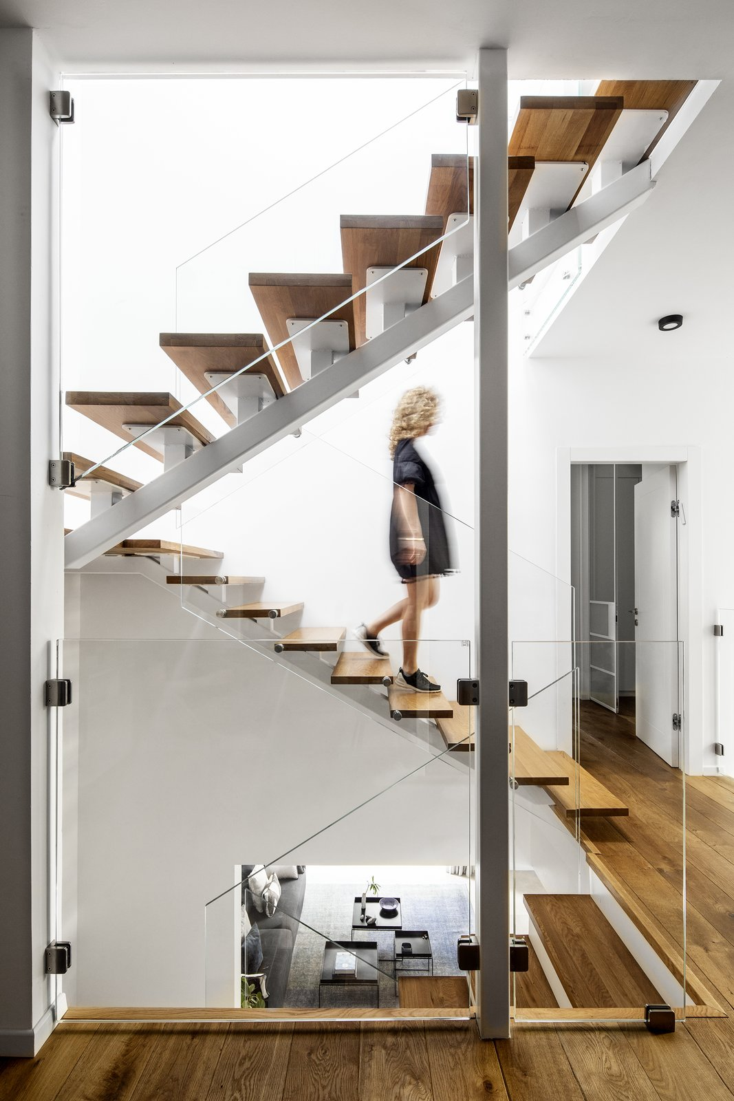 MG House staircase