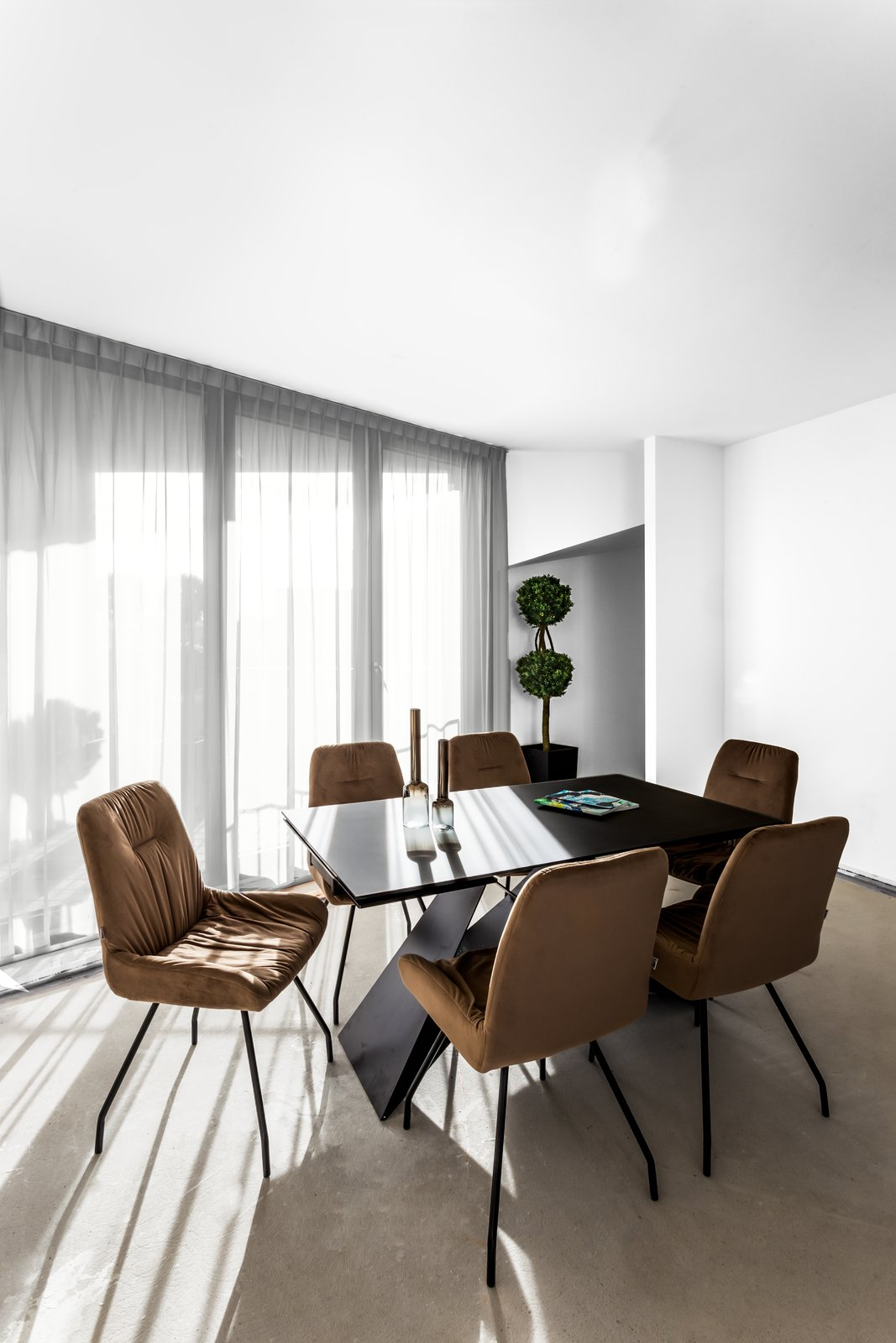 Dining Room, Table, and Chair SAPPHIRE Super Penthouse, VON ALBERT REAL ESTATE  SAPPHIRE Super Penthouse