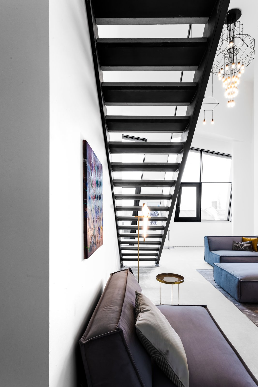 Staircase and Metal Tread SAPPHIRE Super Penthouse, VON ALBERT REAL ESTATE  SAPPHIRE Super Penthouse