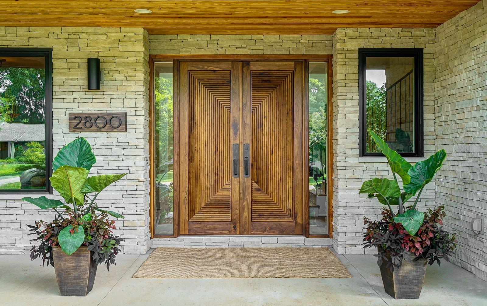Doors, Swing Door Type, Wood, and Exterior Dorchester Front Door Entry  The Dorchester Project by  Paul + Jo Studio