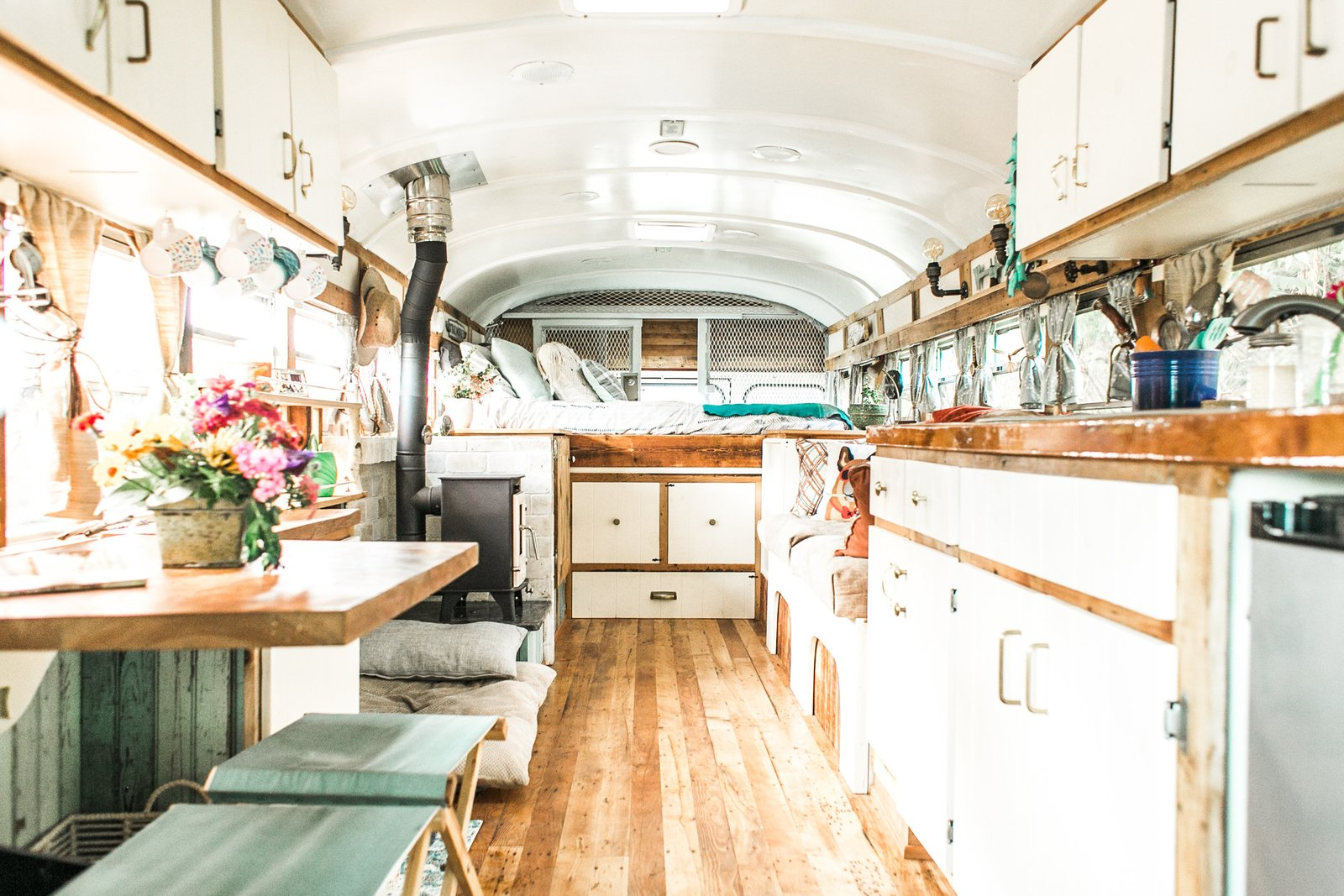 The Wild Drive Life Bus Modern Home In Gorham New
