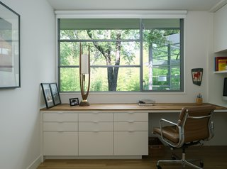 The office of Inwood Place offers a quiet reprieve from the hubbub of daily life.