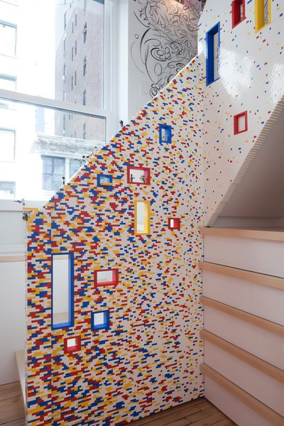 The Lego stair as a growing playground