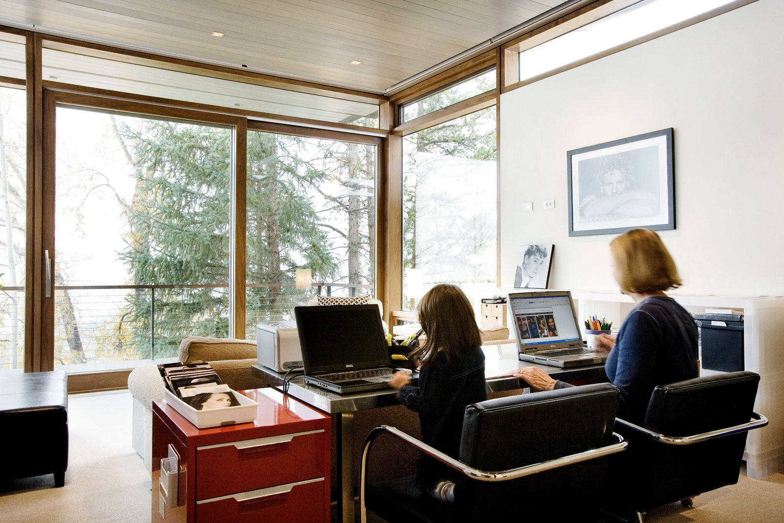 Office Home office  An Architects Dream Home --Wrights Road Aspen