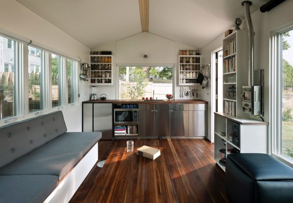 Find out how tiny homes fit everything in such a small amount of square footage with these free floor plans.