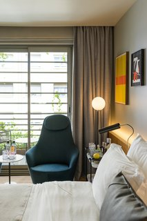 Sir Victor hotel offers seven different types of accommodations starting at 220 euros per night.