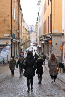 The best way to explore a new city is by foot—and the narrow cobblestone streets of Stockholm's old town are a pedestrian haven lined with restaurants, cafes, and shops.