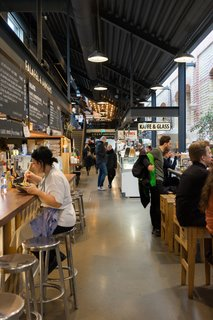 Matkaravan's food tours highlight the food hall's biggest hits—including traditional fare like  gravlax and pickled herring, and more modern dishes like Skåne pizza (which is incredibly delicious).