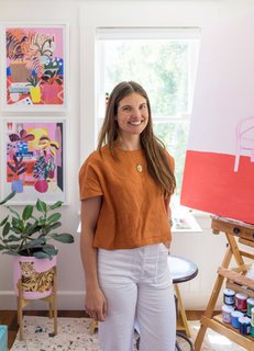 Watch: Artist Mary Finlayson's Vibrant San Francisco Home Celebrates Color in a Big Way