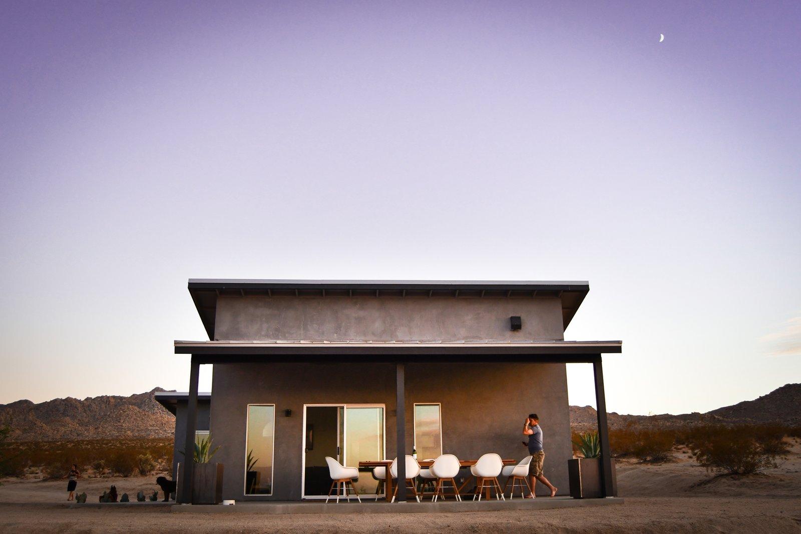 Jt1 Cabin Modern Home In Joshua Tree California On Dwell