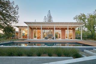 Modern-Day California Ranch House