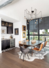 Modern home with Dining Room, Dark Hardwood Floor, Bar, Table, Ceiling Lighting, Chair, Storage, and Recessed Lighting. Dining/Wet Bar Detail Photo 8 of 400 SOLA