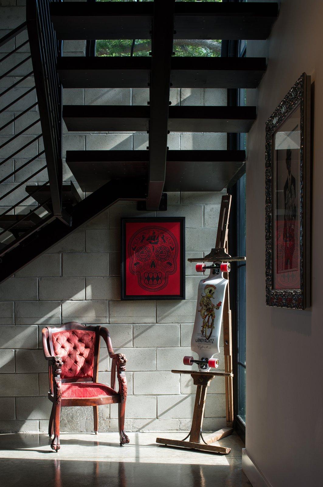 Hallway and Concrete Floor Foyer Detail  400 SOLA