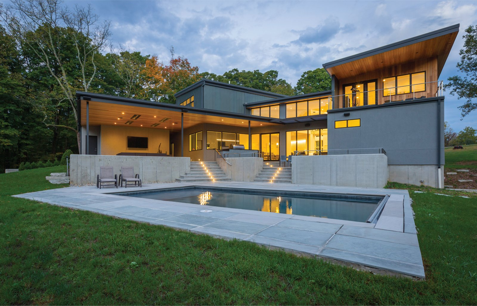 Indian Hill Residence Modern Home In Cincinnati Ohio By Platte On Dwell