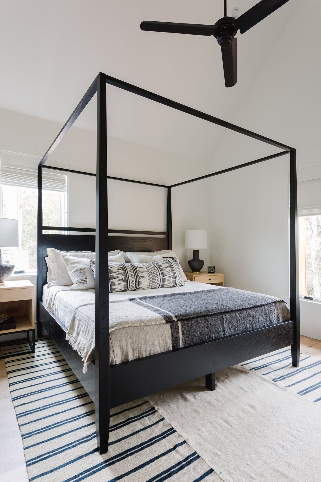 Naturally House guest bedroom canopy bed