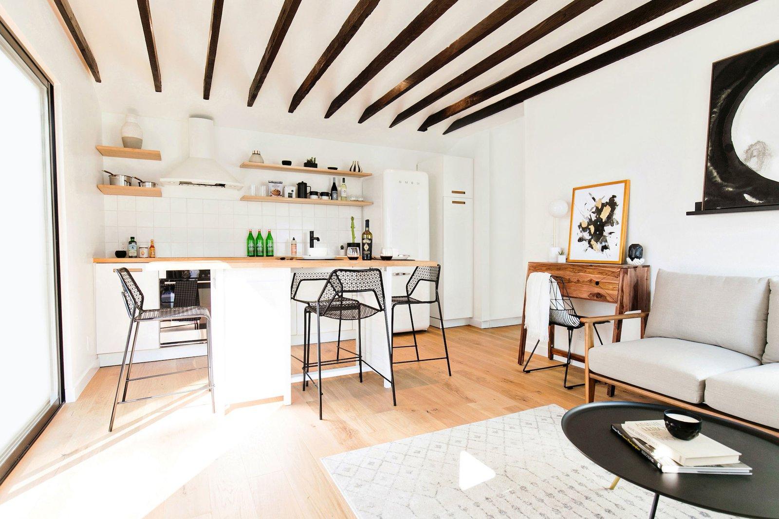 Node LA Echo Park co-living apartment living space