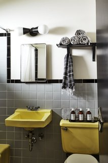 Each room has natural bathroom amenities from Village Common.