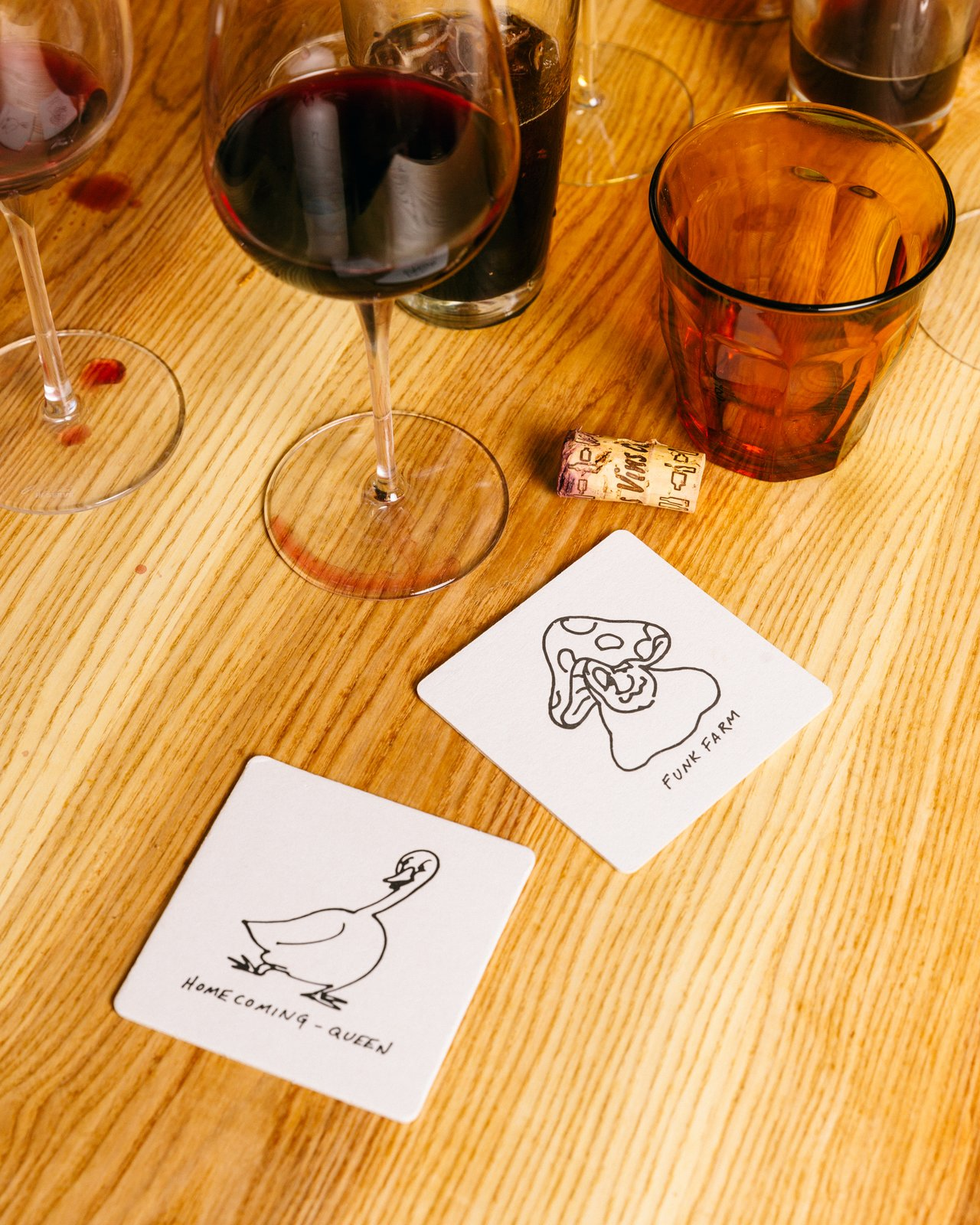 Brothers and Sisters coasters