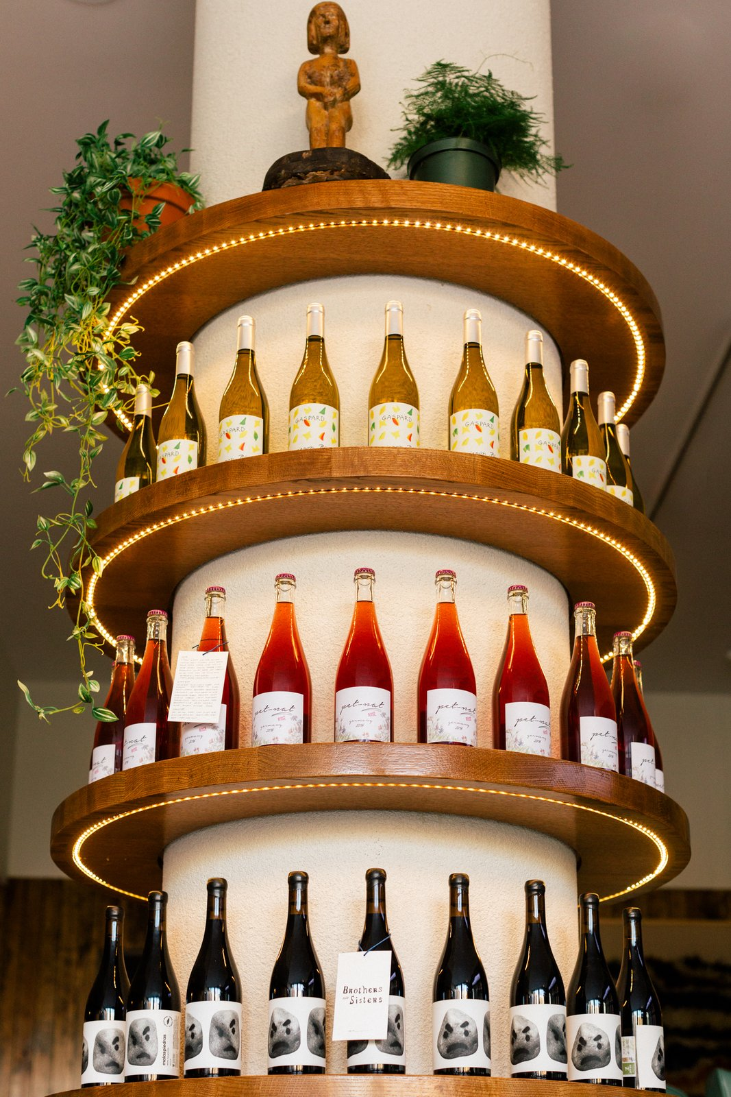 Brothers and Sisters wine column