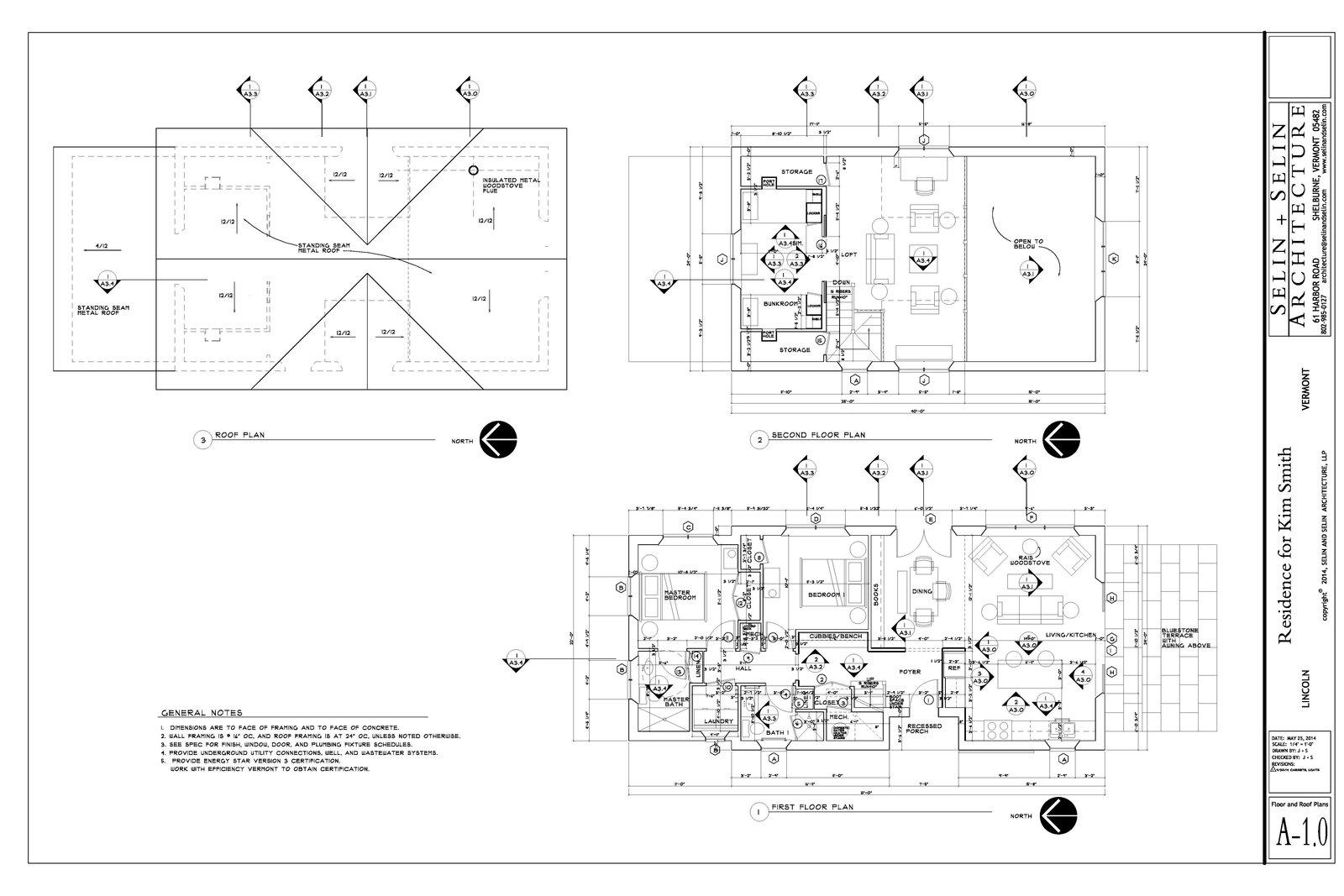 Kim Smith Residence floor plan