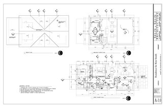 Selin + Selin Architecture's floor plan for the farmhouse.