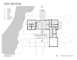 The main floor plan.