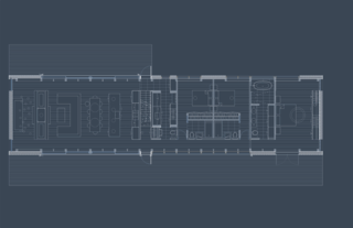 The ground-level floor plan of Silvernails